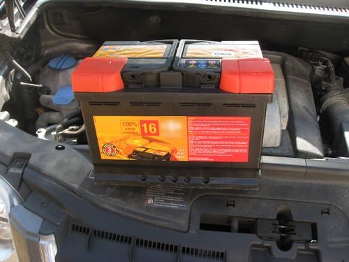 batterie voiture touran